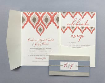 Customizable iKat Wedding Invitation Suite