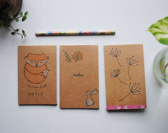 Notepad, sketching notebook, blank art note taking, blank book journal, daily planner, note taking, daily notebook, sketchbook