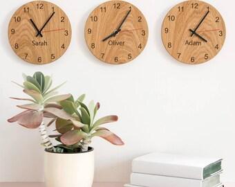Personalised People Clocks