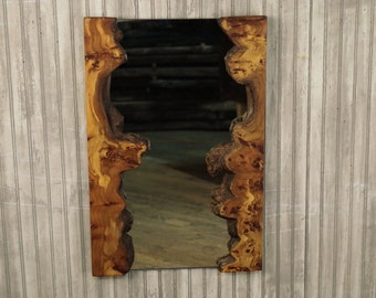 Hollow Log Picture Frame Walnut Tree Slice By