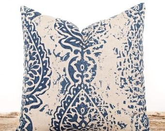 sale ends soon navy throw pillows navy medallion pillow cover navy blue pillowcases