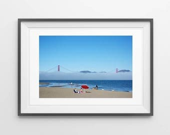 Golden Gate Bridge Fog - San Francisco - Landscape Photography