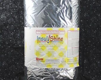 1 metre x 22 inch (56 cm) wide Warm Company Insul Shine Stabiliser Interfacing Wadding Pellon