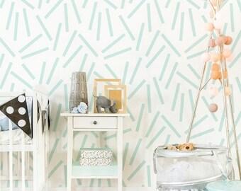 Confetti- Removable Wallpaper-Wallpaper-Self Adhesive Wallpaper-Removable-Wall Stickers