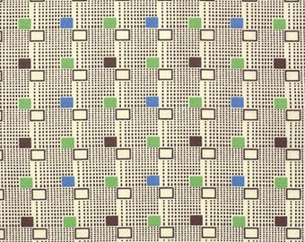Katie Jump  Rope - Harry's Stripe - Fairway by Denyse Schmidt for Free Spirit Fabrics, 1/2 yard, PWDS.112 Fairway