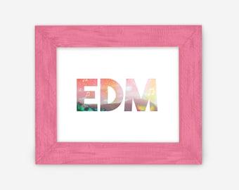 EDM print