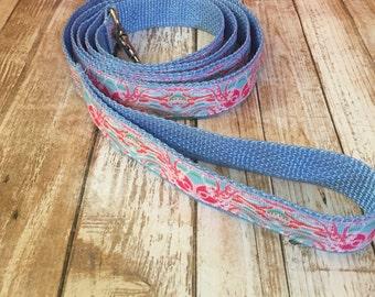 Dog Pet Leash in Jellies Be Jamin print