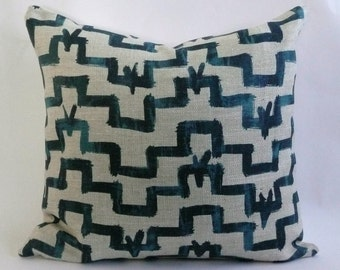 Tulu Pillow Cover in Indigo