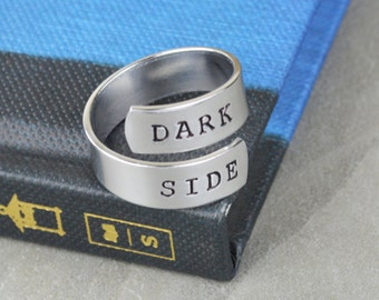 Dark Side Wrap Ring - Star Wars // Handcrafted Jewelry by Silver Statements