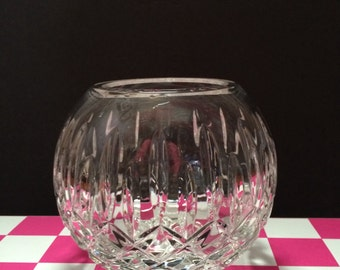 Crystal Lenox Lady Anne Rose Bowl by Gorham