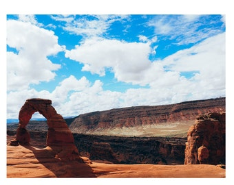 Delicate Arch Matte Photo (FREE U.S. Shipping)