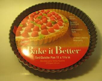 Wilton Bake it Better 11 inch Fluted Tart / Quiche Pan