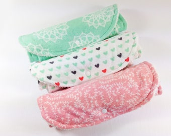 Baby Girl Burp Cloth Set for Girls Burp Cloths Girl Burp Clothes Baby Girl Shower Gift Infant Girl Burp Cloth Set of 3 Burp Clothes