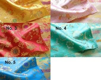 Korean Traditional Pattern Fabric for Hanbok Dress Cloth 1YD