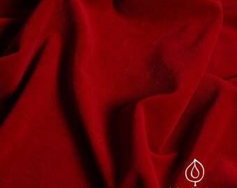 Life clothes organic Nicki in Velvet Red