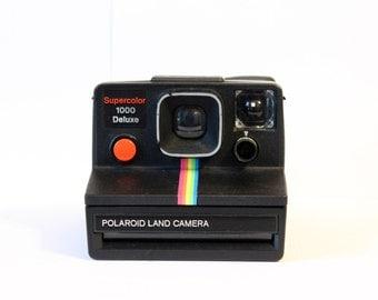 Polaroid Supercolor 1000 DeLuxe - Black - Special Edition