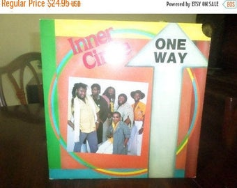 Save 30% Today Vintage 1988 Vinyl LP Record One Way Inner Circle Bad Boys Cops Theme Reggae  Near Mint Condition 6391