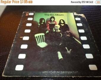 Save 30% Today Vintage 1971 Vinyl LP Record The Yes Album Atlantic Records Very Good Condition 2837