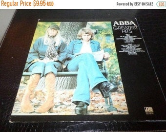 Save 30% Today Vintage 1977 LP Record Abba Greatest Hits Excellent Condition Atlantic Records 2804