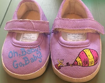 Newborn Dr Seuss Oh Baby! Go Baby! Shoes