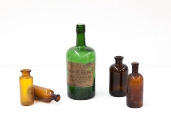 Crabby Scotch Whiskey Bottle