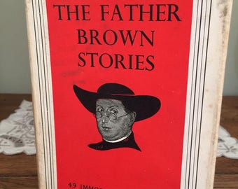The Father Brown Stories 49 Immortal Stories G K Chesterton Hardback, 1960