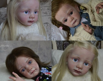 Custom  Reborn Life Like Toddler Doll  ~  Frida ~  Karola Wegerich ~ Sold OUT~ LE ~ Made to Order ~