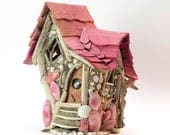 Reserved for Kathleen  Life Moves - Fairy House celebrating the beauty of daughters.