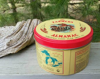 The Old Farmer's Almanac Tin