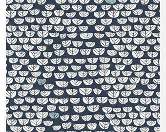 Hidden Garden POPLIN - SPROUTLET Dusk by Miriam Bos - Organic Cotton (0.25m)