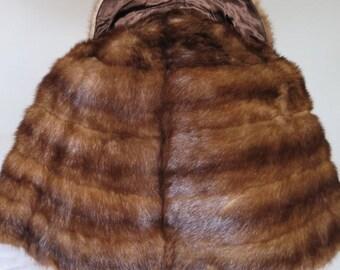 Mink stole//Mink Cape//Fur Stole