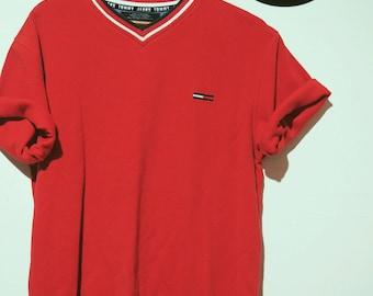 10% discount * Vintage Tommy Hilfiger t-shirt-90's