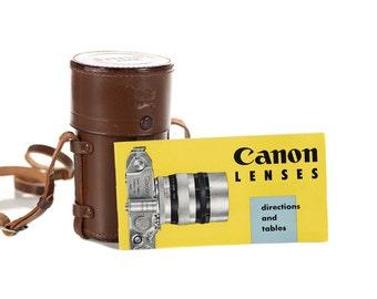 Canon Rangefinder 85mm f:1.5 - Rare 1952 Leica Screw mount Lens