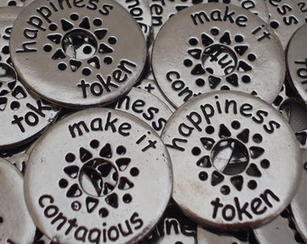 Happiness Pocket Pieces  - SET OF 10