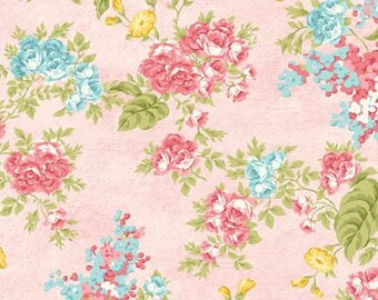 Forever Love~Flora Rosa~ Cotton Fabric by Benartex~Cotton Fabric, Quilt, Home Decor~Fast Shipping,F807