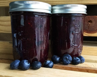 Homemade Jam Michigan Blueberry Jam Blueberry Jam