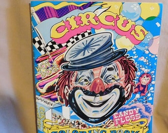 Shiner's Circus Coloring Book