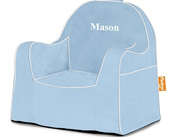 P'kolino Personalized Solid Little Reader Chair (add name to be personalized in Notes)