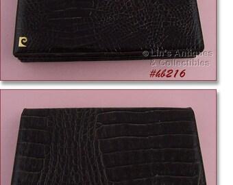Brown Alligator Clutch Style Vintage Handbag (Inventory #HB216)