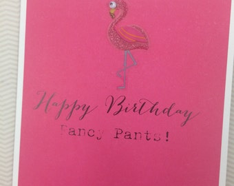 Fancy Pants Birthday card