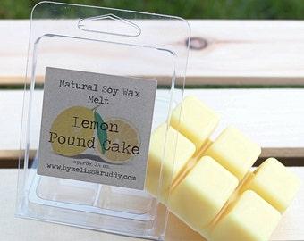 Lemon Pound Cake Soy Wax Melt