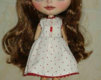 Dress for blythe, pullip, barbie, etc. esc 1/6