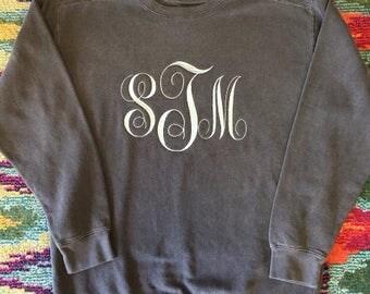 Sweatshirt| Monogram Sweatshirt| Sweater| Personalize Sweatshirt