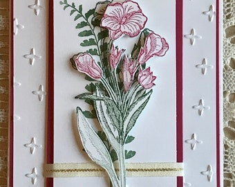 Blank Card - Floral