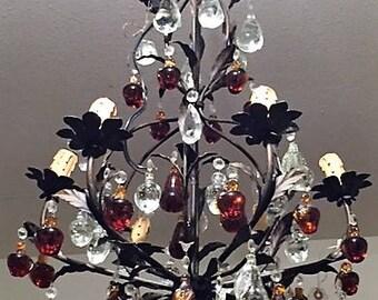 Fruit Crystal Chandelier for sale