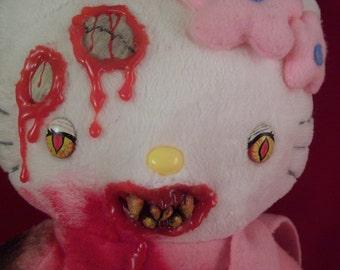 Creepy Cute Zombie Hello Kitty