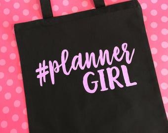 Planner Girl Tote Bag