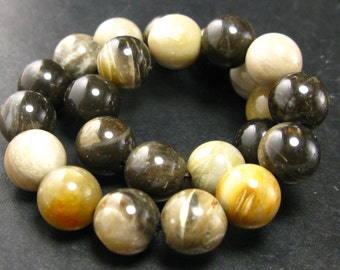 "Empowerite Bracelet From New Zealand - 7"" - 8mm Round Beads"