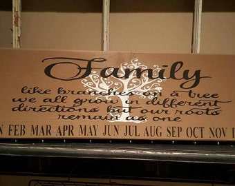 Special Occasion date boards