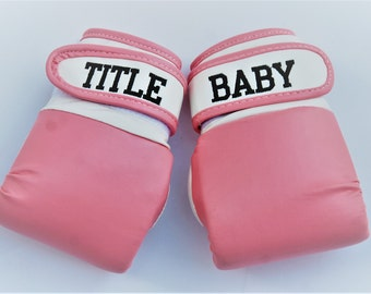 Baby boxing gloves /  Personalized baby boxing gloves